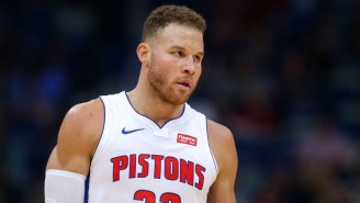 Blake Griffin Had Surgery On His Knee And There's No Timetable For His Return