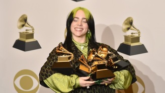 Billie Eilish Offered An Emotional And Teary Backstage Reaction To Her Historic Grammy Wins