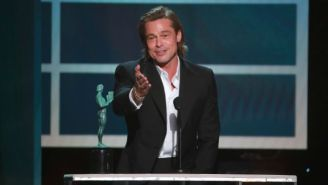 Brad Pitt's Hilarious Acceptance Speech Stole The Show At The SAG Awards