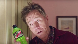 Bryan Cranston Recreates 'The Shining' In Mountain Dew's Bizarre Super Bowl Commercial