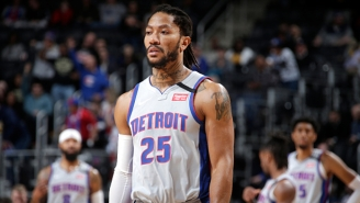 The Lakers And Sixers Have Reportedly Inquired About A Derrick Rose Trade