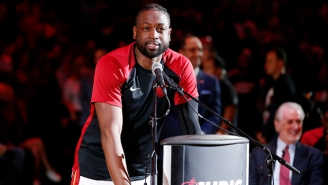 The Heat Reportedly Have A Date In Mind For Dwyane Wade's Jersey Retirement