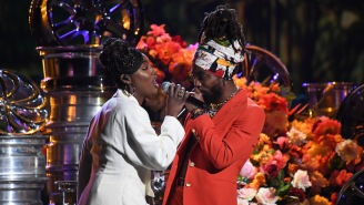 Earthgang's Olu And Tiana Major9 Perform Their 'Collide' Collaboration On 'The Late Show'