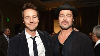 Brad Pitt's Memories Of His Stoned And Awful 'Fight Club' Venice Premiere Sound Nightmarishly Funny
