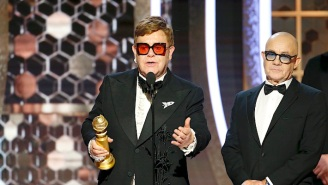Elton John Beat Beyonce And Taylor Swift For Best Original Song At The Golden Globes
