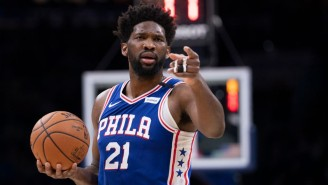 Joel Embiid Is Giving Away Mountain Dew-Inspired Sneakers Through A 'Treasure Hunt' In Philly