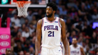 Joel Embiid Left Sixers-Blazers With An Ankle Injury