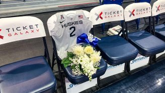 UConn Honored Gianna Bryant Ahead Of Their Game Against Team USA