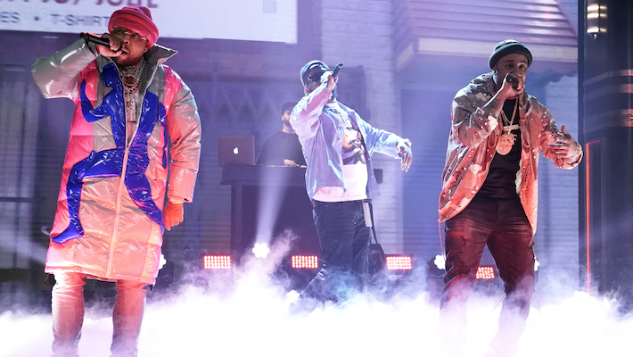 Griselda Takes Over 'The Tonight Show' Stage For A Fiery Performance Of 'Dr. Birds'