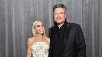 Blake Shelton And Gwen Stefani Bring Their Collaborative Single 'Nobody But You' To The Grammys Stage