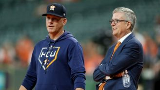 MLB Suspended The GM And Manager Of The Astros For A Year Over A Sign-Stealing Scandal (UPDATE)
