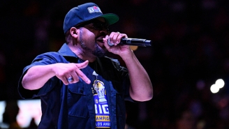 Ice Cube Shares A Streak Of Conspiracy Memes, Including One Being Called 'Antisemitic'