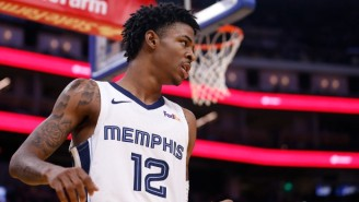 Ja Morant Is 'Thinking About' Participating In The NBA All-Star Slam Dunk Contest