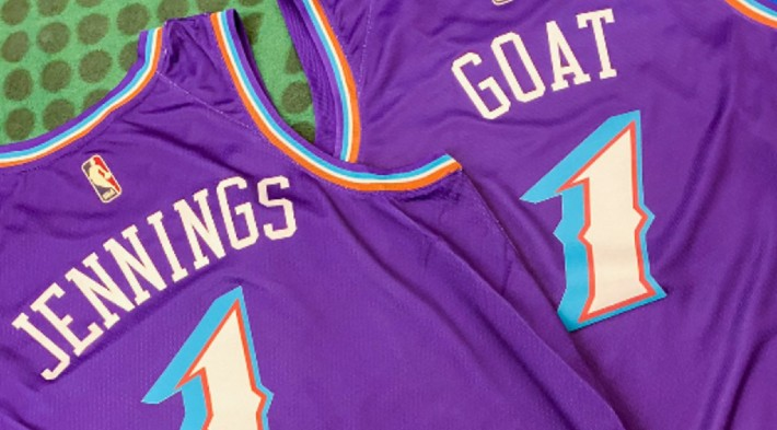 The Jazz Made Ken Jennings Custom Jerseys After His 'Jeopardy!' GOAT Tournament Win