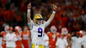 The Bengals Did The Obvious And Took Joe Burrow With The No. 1 Pick In The 2020 NFL Draft