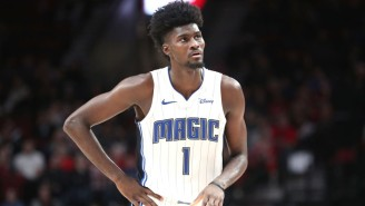 Jonathan Isaac Left In A Wheelchair After Apparently Re-Injuring His Left Knee