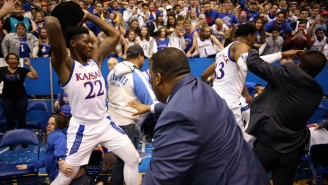 A Gigantic Brawl Broke Out At The End Of Kansas-Kansas State