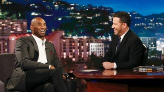 An Emotional Jimmy Kimmel Teared Up While Dedicating His Entire Monologue To Kobe Bryant