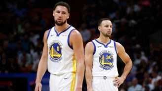 Steph Curry Says Klay Thompson's Achilles Injury Brought 'A Lot Of Tears'