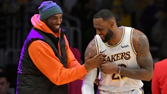 LeBron Posted A Heartfelt Message To Kobe: 'Hope I Made You Proud My Brother'