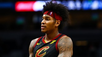 Cavs Rookie Kevin Porter Jr. Was Helped Off The Floor With A Left Knee Injury