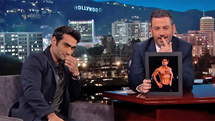 Kumail Nanjiani Tears Into Junk Food For The First Time Since Getting Ripped For 'The Eternals'