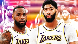 Anthony Davis' Stellar First Quarters Allow LeBron James To Thrive Late In Games