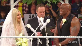 Vince McMahon Was Reportedly 'Very Happy' With Lana And Lashley's Wedding