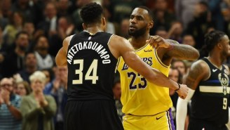 LeBron James And Giannis Antetokounmpo Headline The 2020 NBA All-Star Game Starters