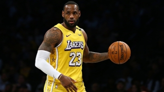 LeBron James Believes The Lakers 'Have Enough Right Now' And Don't Need To Make A Trade