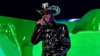 Lil Nas X Celebrated His Grammys Win At The Strip Club With Lizzo, Dua Lipa, And Rosalía