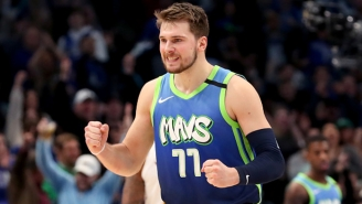 Luka Doncic Ripped His Own Jersey After Missing A Pair Of Free Throws