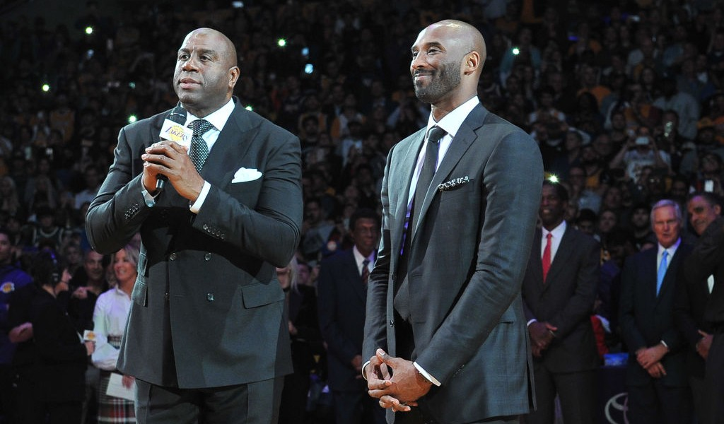 Magic Johnson Remembers Kobe Bryant's Legacy On And Off The Court