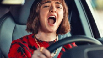 Maisie Williams Lets It All Go In Audi's 'Frozen'-Inspired Super Bowl Ad