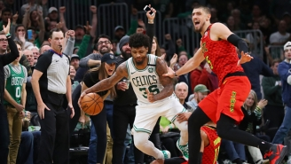 Trae Young And Marcus Smart Kept Jawing In Postgame Following A Heated End To The Hawks-Celtics Game
