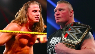 Brock Lesnar Reportedly Told Matt Riddle They 'Will Never Work Together'