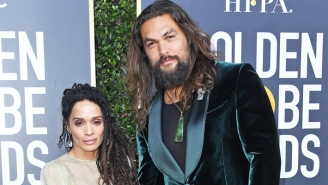Of Course Jason Momoa Rocked A Tank Top In The Golden Globes Audience, But He Did It For A Solid Reason