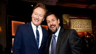 Conan O'Brien Delightfully Roasts Adam Sandler During An Awards Show: 'What's Wrong With You?'