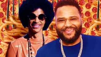 Anthony Anderson Tells Us About That Time He Had Pasta And Pizza With Prince