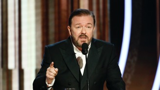 Ricky Gervais Regrets Telling This Golden Globe Joke, But The Joke's Target Wasn't Offended