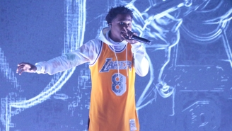 Roddy Ricch Pays Tribute To Kobe With A Claustrophobic Performance Of 'The Box' On 'The Tonight Show'