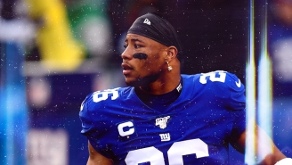 Saquon Barkley Gives His Thoughts On Eli Manning, Podcasts, And The Super Bowl