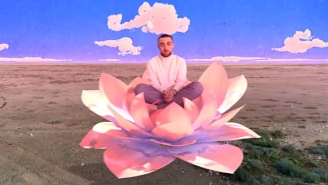 Mac Miller's Psychedelic 'Good News' Video Is A Colorful Collage Of The Rapper At Work