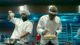 Drake And Future Go From Regular Jobs To Rap Stardom In Their Cheeky 'Life Is Good' Video