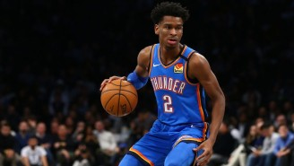 Shai Gilgeous-Alexander Had A Ridiculous 20-20-10 Triple-Double Against The Wolves