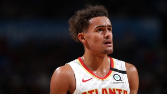 Trevor Ariza Gave Trae Young A Friendly Warning Not To Nutmeg Him Again