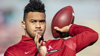 The Miami Dolphins Took Tua Tagovailoa With The Fifth Pick In The NFL Draft