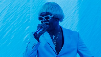 Tyler The Creator Was Joined By Boyz II Men And A Clone Army For His Grammys Performance Of 'New Magic Wand'