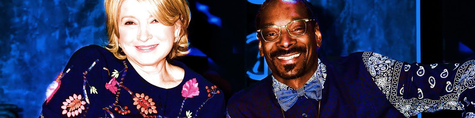 A Chat With Martha Stewart About Her Friendship With 'Avant Garde' Snoop Dogg, And What Snacks You Shouldn't Serve At Super Bowl Parties