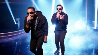 Will Smith Summarizes His Life In One Rap With Jimmy Fallon On 'The Tonight Show'
